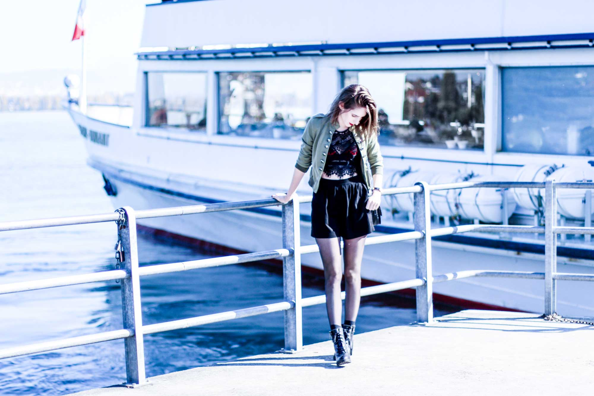 blazer sophisticated military-swiss-fashion blogger kpop korean