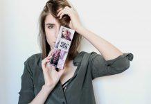 colorista lilac brown hair swiss fashion blogger