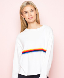 brandy melville manor vevey fashion rainbow sweater
