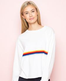 brandy melville manor vevey fashion rainbow sweater