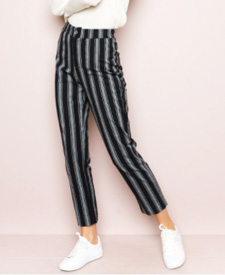 brandy melville manor vevey fashion lined pants