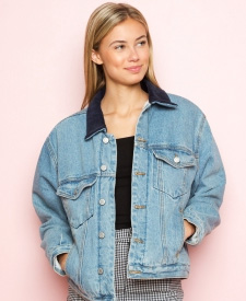 brandy melville manor vevey fashion denim jacket