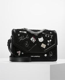 karl lagerfeld fashion blogger zalando black cat bag