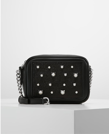 karl lagerfeld fashion blogger zalando cat bag pearls
