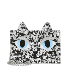 karl lagerfeld fashion blogger zalando cat sparkly bag