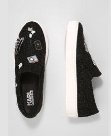karl lagerfeld fashion blogger zalando sparkly shoes