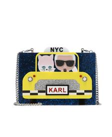 karl lagerfeld fashion blogger zalando taxi bag