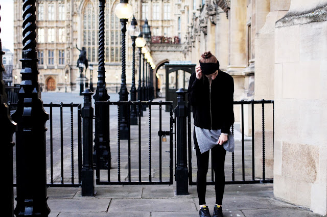 outfit of the day london layering winter fashion blogger style