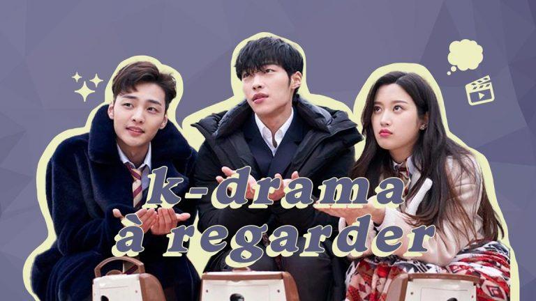 5 drama coréen à regarder absolument