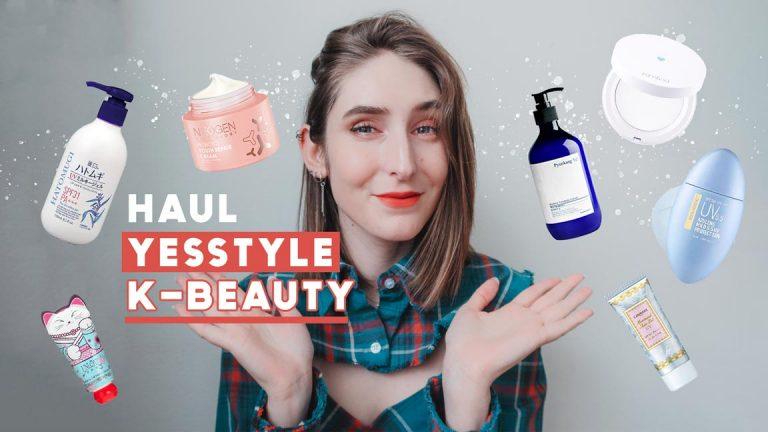 Haul k-beauty YesStyle : 250$ de soins coréens