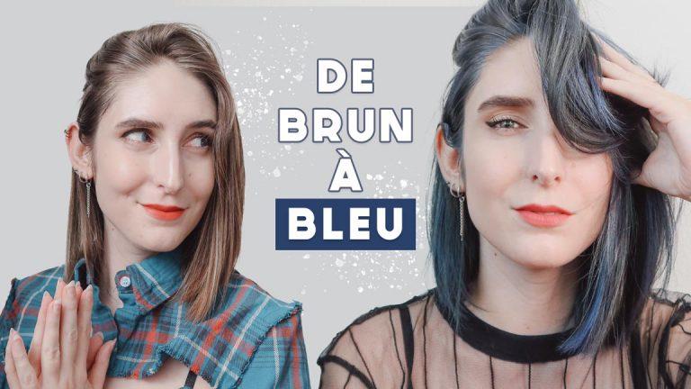 Comment colorer ses cheveux en bleu SANS décoloration ?